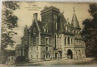 Chateau de Ker-Stears (Facade Nord) Brest France Black & White Vintage Postcard