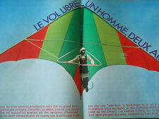 Le Vol Libre Un homme deux ailes Bryan Allen Doc Clipping 1977