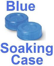 Blue Contact Lens Soaking Case - Translucent Style