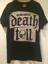 VERY RARE - Official While She Sleeps - Death Toll TShirt - Size Small