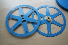 16mm Film-Metall-Steckspule mit Filmdose - für 600 Meter Filme