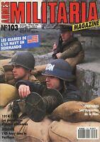 MILITARIA MAGAZINE N°103 DE 1994, LES CASQUETTES DE LA HEER**