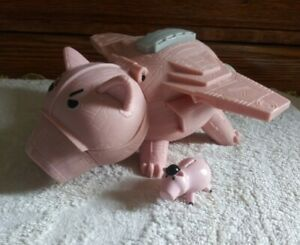 "Imaginext Toy Story ""Evil Hamm/Dr Porkchop"" Flying Pig Spaceship-NICE"