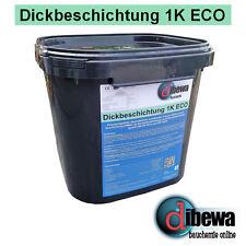 dibewa - Dickbeschichtung 1K ECO / Bitumen / Abdichtung / Kellerabdichtung 30Ltr