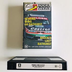 Primus 1000 Classic 1997 Race Highlights VHS - Mt Panorama Bathurst BROCK'S LAST
