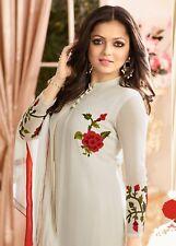 Indian/Pakistani Traditional Bollywood Ethnic Designer Anarkali Salwar Kameez_Us