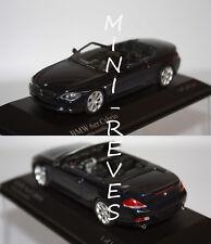 Minichamps BMW serie 6 Cabriolet 2006 Bleue 1/43 43026030