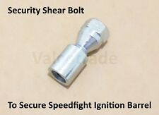 Security Shear Bolt for Peugeot Speedfight. Secure Lock Barrel. Speed Fight snap