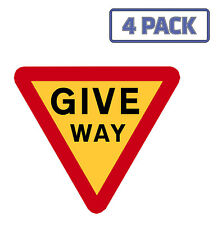 Give Way Yield Road Sign Sticker Vinyl Decal 1-1029