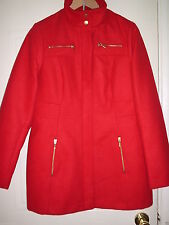 George Polyester Popper Coats & Jackets for Women