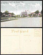 Old Minnesota Postcard - St, Paul - St. Joseph's Hospital, Nurses' Home