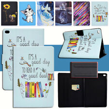"""Smart Cover for iPad Air 1 2 9.7"""" 2017 2018 Cute Animal Pattern PU Leather Case"""