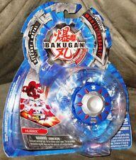 Bakugan Mechtanium Surge Mobile Assault Blue Aquos Hurrix w/Real Die-Cast Metal