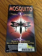 Mosquito (VHS, 1995), Brand New and Sealed, Andre Blay