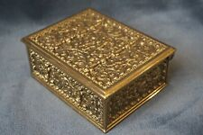c.1910 Erhard&Söhne Bronze German Nude Cherubs Trinket Jewellery Casket Box Case