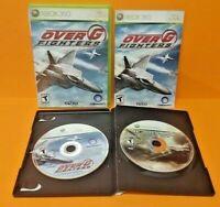 IL-2 Sturmovik: Birds of Prey + Over G Fighters XBOX 360 Games Rare Lot Jets War