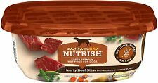 Rachael Ray Nutrish Hearty Beef Stew Wet Dog Food with Carrots, Peas Pack of 8