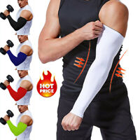 Compression Elbow Support Thigh Arm Sleeve Brace Anti Sun UV for Basketball SFC