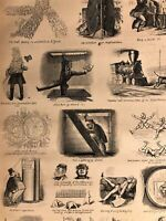 Horrors & Humors of Travel Great Eastern Steamship 1860 great old print