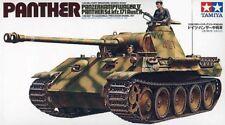 Tamiya 1/35 scale WW2 German Panther Medium. Tank