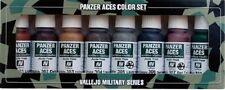 VALLEJO MODEL COLOR ACRILICO 70122 - PANZER ACES PAINT SET 1