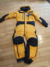 Mens New North Face Summit Himalayan One-Piece Suit Size Medium Color Gold