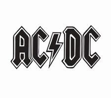 AC/DC Music Vinyl Die Cut Car Decal Sticker - FREE SHIPPING