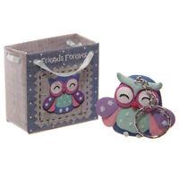 Keyring Sentiment Owl Keyrings In A Bag Owl Themed /stocking Filler-X-mas Gift