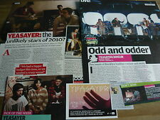 YEASAYER - MAGAZINE CUTTINGS COLLECTION (REF X)
