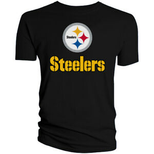 Pittsburgh Steelers T-Shirt Graphic Men Cotton PIT