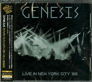 GENESIS-NEW YORK 1986-IMPORT 2 CD G27