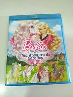 Barbie Y sus Sisters Una Aventure de Chevaux Blu-Ray - Espagnol Anglais