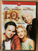 I.Q. DVD 1994 Albert Einstein Romantic Comedy Romcom w/ Meg Ryan and Tim Robbins