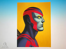 Archangel Mondo Mike Mitchell Portrait Print Marve Comics X-Men Giclee Proof