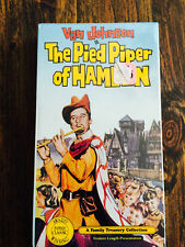 Pied Piper of Hamelin 1957 VHS haunting fairy tale Van Johnson Claude Rains rats
