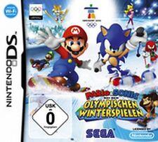 NINTENDO DS 3DS MARIO und SONIC bei den OLYMPISCHEN WINTERSPIELEN Neuwertig