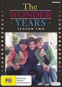 The Wonder Years : Season 2 (DVD, 4-Disc Set) BRAND NEW SEALED REGION 4 💥💥