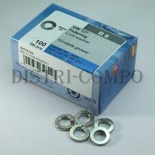 Rondelle grower acier inoxydable 6mm DIN127 Reisser - Boite de 100 pièces
