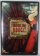Moulin Rouge DVD 2001 Widescreen Edition Ewan McGregor Baz Luhrman Nicole Kidman