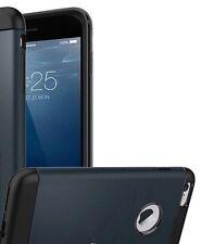 Apple iPhone 7 Plus Hülle Case  Farbe Dunkelblau (Metal Slate) 1Top Cover Tasche