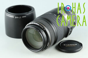 Canon EF 75-300mm F/4-5.6 IS USM Lens #33564 F5