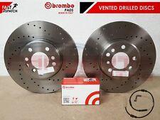 2x conjunto de disco de freno Brembo Trasero BMW OEM 09A27011 34216764655