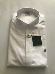 NWT BROOKS BROTHERS 1818 REGENT ORIGINAL POLO NON IRON SHIRT SUPIMA S_L $79.50