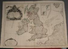UNITED KINGDOM IRELAND 1778 JANVIER/SANTINI ANTIQUE ORIGINAL COPPER ENGRAVED MAP
