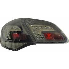 Coppia fari fanali posteriori TUNING OPEL ASTRA J 09- 5pt LED fume' con LED luce