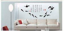 Jiang Shang Yu Fish Oriental Wall Stickers Decal Removable Art Vinyl Decor DIY