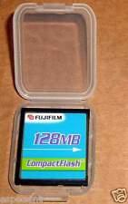 New Fujifilm 128MB CompactFlash I memory Card case 128 mb CF janome+FREE S/H