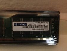 1GB PC3200 400MHZ 184PINS DDR DESKTOP MEMORY NON ECC