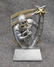 glossy star resin football trophy award Rst525