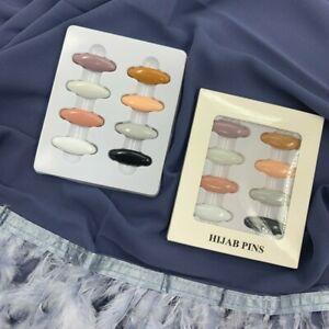 Plastic Safety Brooch Muslim Hijab Scarf Pins Women's Headwear Accessories